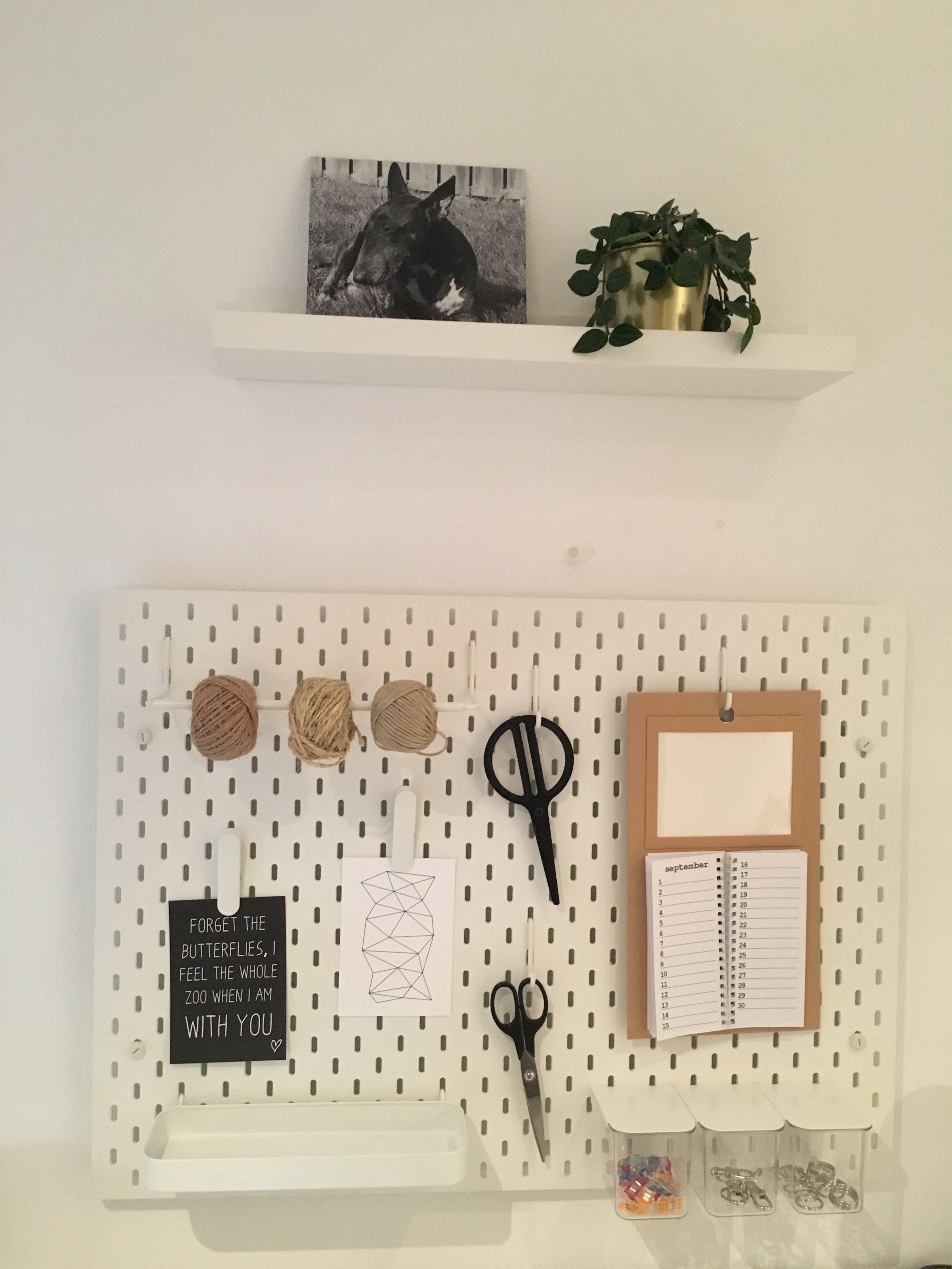 Ikea wandbord skadis. | dom | Pinterest