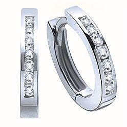 4d296945bdd1b Diamond Earrings - Ben Moss | My Style | White gold diamond earrings ...