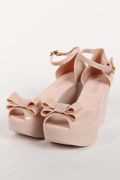 588b5659c Cute Wedge rubber shoes!