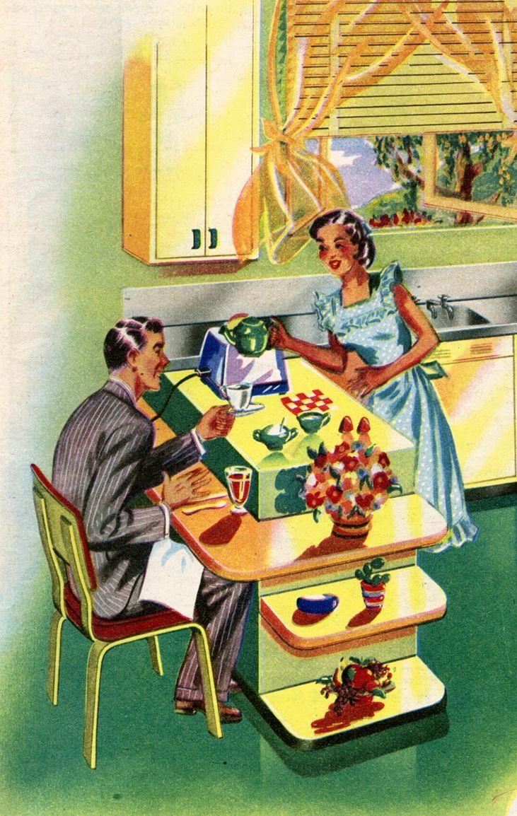 free+vintage+retro+image_50%27s+kitchen.jpg (731×1154 ...