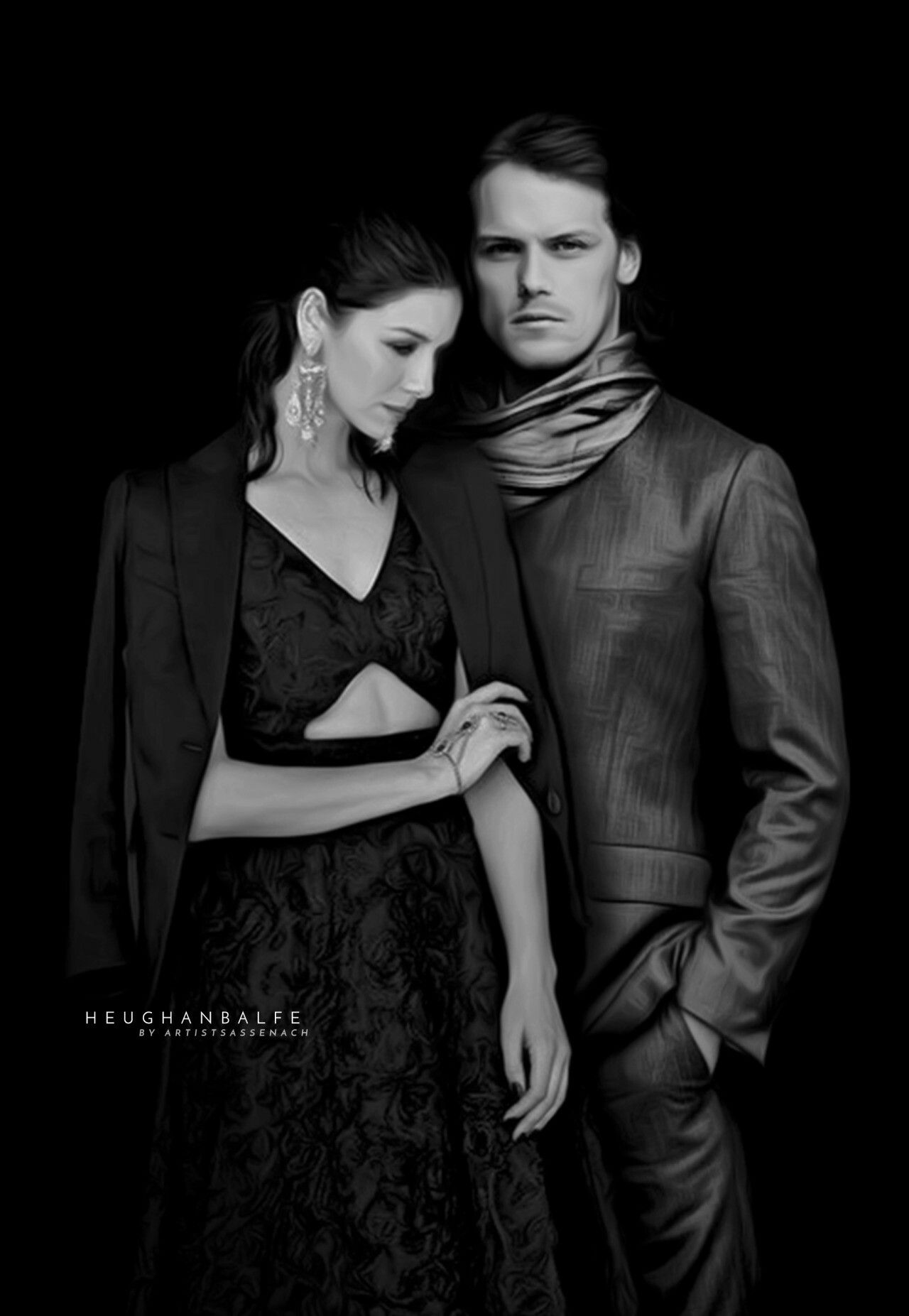 OMG! This is a wonderful manip! So gorgeous together! source