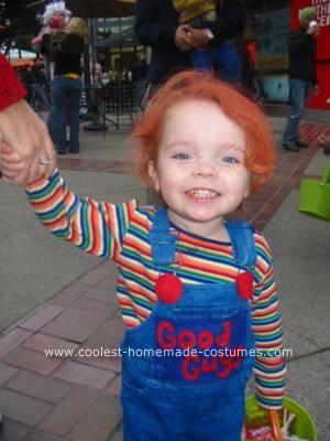 Chucky toddler costume house pinterest chucky toddler coolest homemade chucky halloween costume idea solutioingenieria Images
