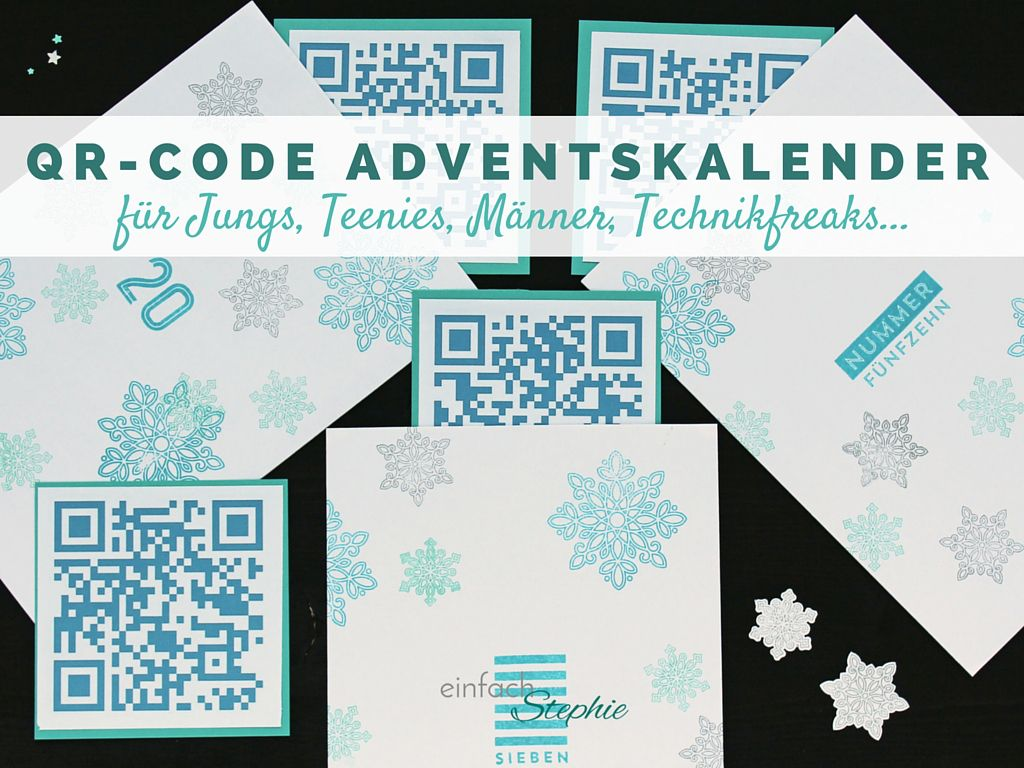 qr code adventskalender f r teenager jungs basteln mit papier f r weihnachten pinterest. Black Bedroom Furniture Sets. Home Design Ideas