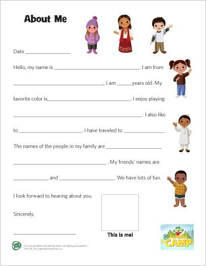 Ahg Pen Pal Ideas This Would Be A Great Introduction Letter For