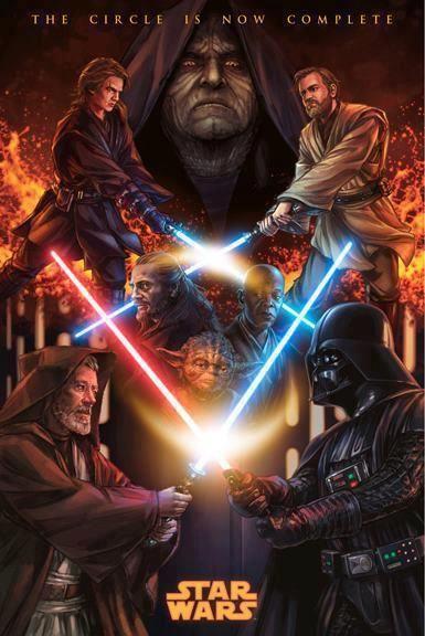 Jedi Vs Sith The Never Ending Battle Locandine Di Film Guerre Stellari Star Wars