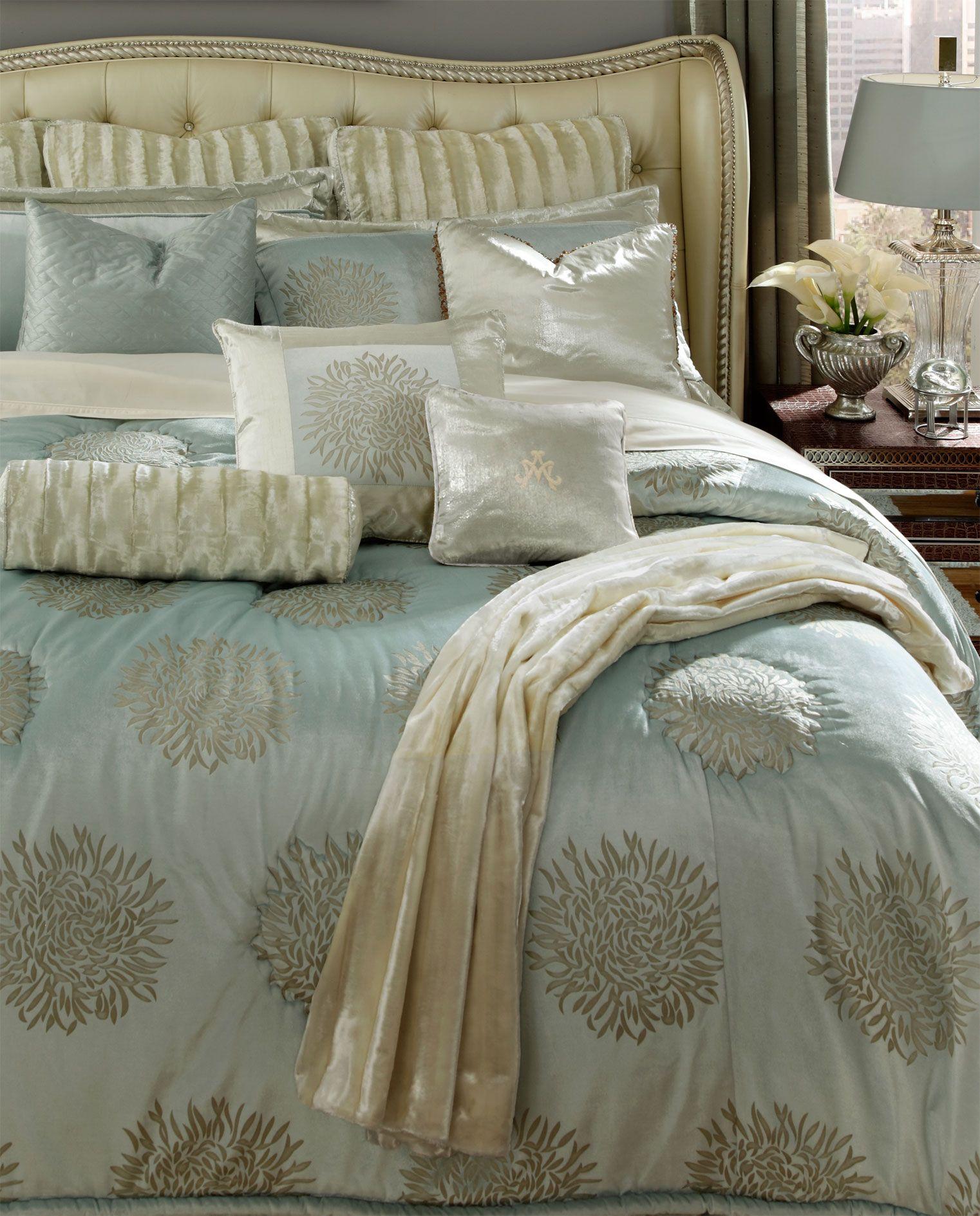 Michael Amini Harlington Luxury Bedding Master Bedroom Luxury