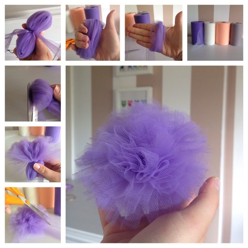 Für Kleine Prinzessinnen: Baby Haarband Selber Machen | Diy And ... Diy Baby Deko