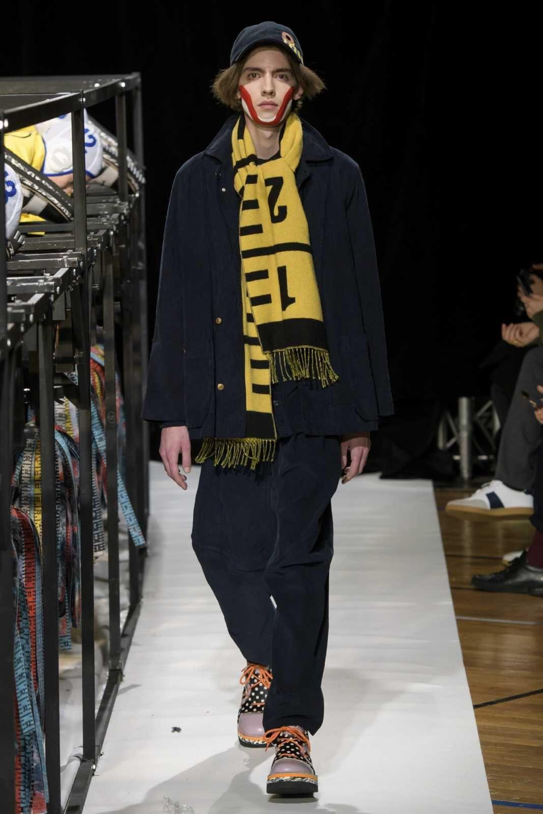 Male Fashion Trends Henrik Vibskov Fall Winter 2018 2019 Paris
