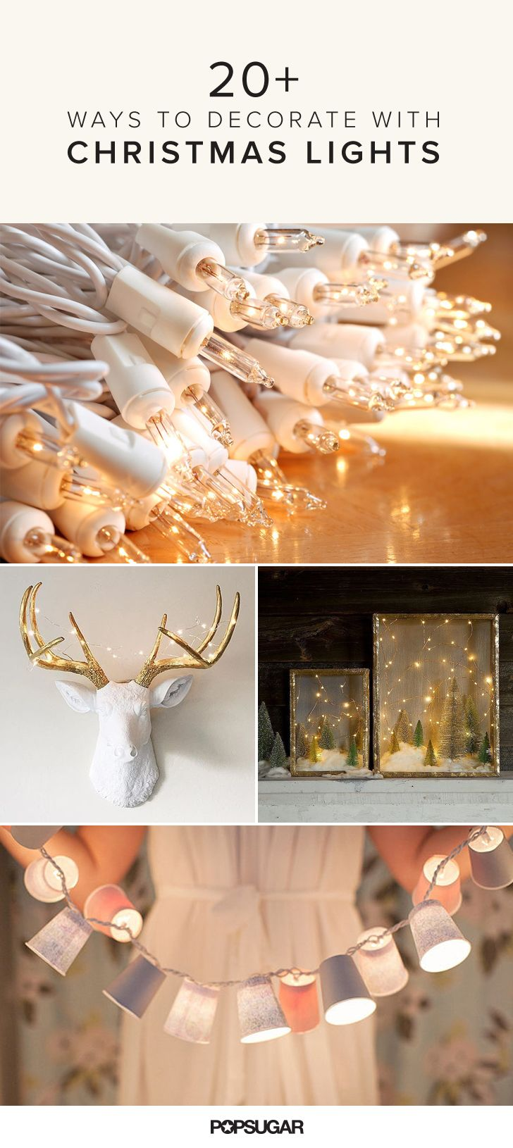 31 Unique Ways To Decorate With Christmas Lights