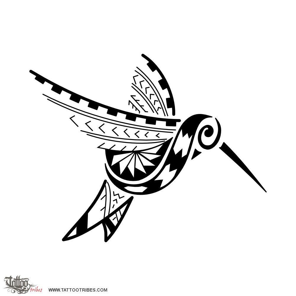 Samoan Styled Hummingbird. Beauty, Life. Raquel Requested