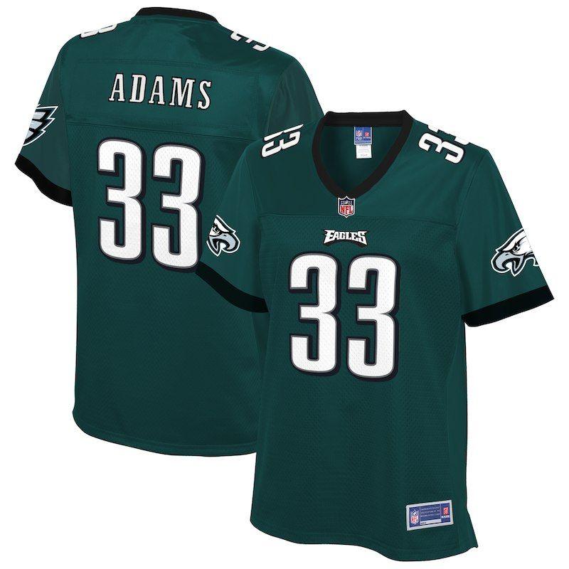 Josh Adams Philadelphia Eagles Nfl Pro Line Women S Player Jersey Midnight Green Eagles Nfl Philadelphia Eagles Players Eagles Jersey