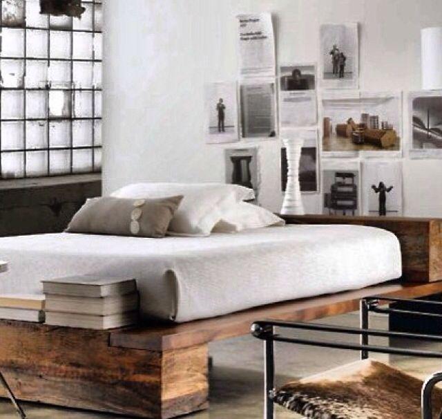 Industrial bedroom   Apt   Pinterest   Dormitorio, Comida y Decoración