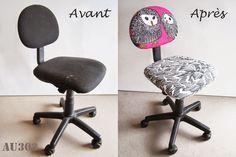 Relooker une chaise de bureau enfant pour 5€