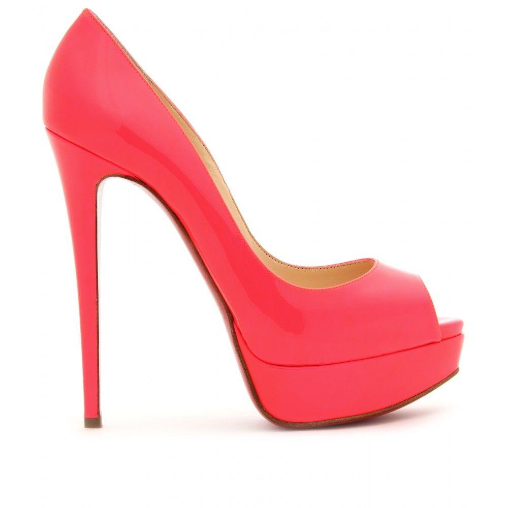 0739b11f214 Christian Louboutin - LADY PEEP 150 PLATFORM PUMPS   Lovely Shoes ...
