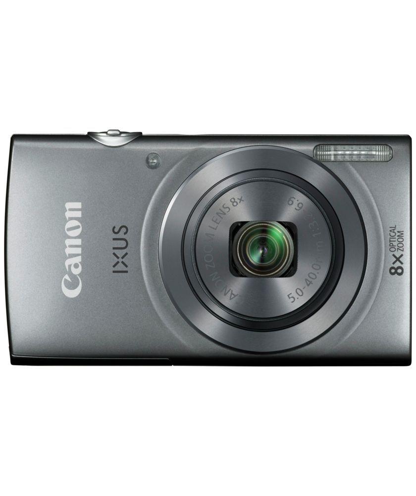 Buy canon ixus 160 20mp 8x zoom camera silver at argos