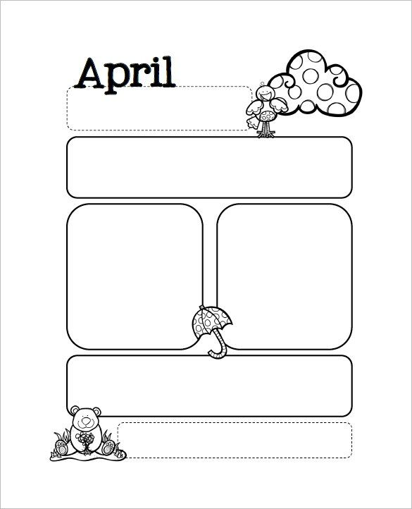 13+ Printable Preschool Newsletter Templates - Free Word, PDF - newspaper templates for kids
