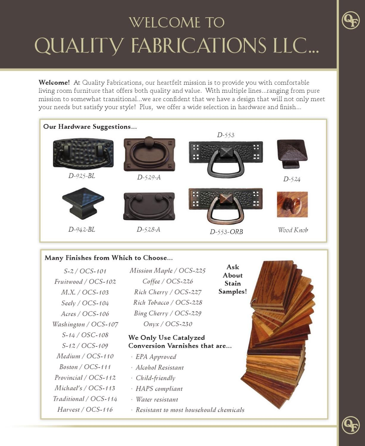 Quality Fabrications Amish Furniture Living Room Available From Heritage In Virginia Beach Va 23452
