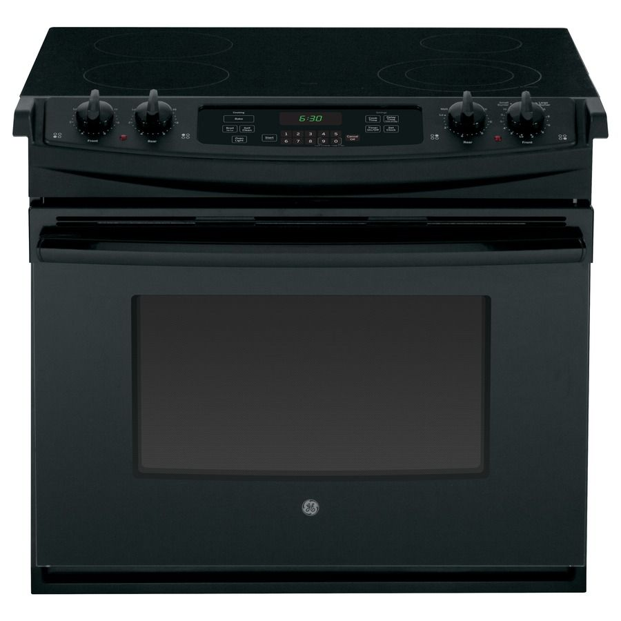 Ge 30 In Smooth Surface 4 Cu Ft Self Cleaning Drop Electric