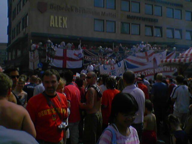 WM 2006 Impressionen in Nürnberg