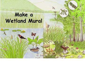 Wetland Mural Activity Parts Index -- Exploring Nature ...
