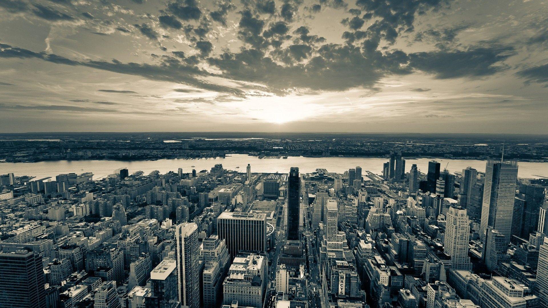 New York City Black And White Background City Wallpaper Cityscape Wallpaper City Skyline