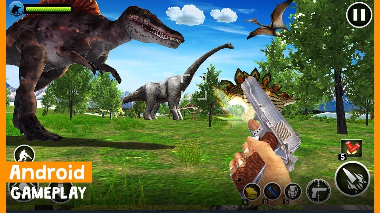 Experience the thrill of being an actual Dinosaur Hunter