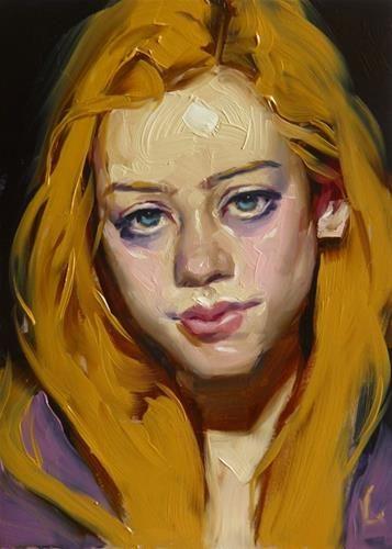 "Daily Paintworks - ""Buttered Up"" - Original Fine Art for Sale - © John Larriva"