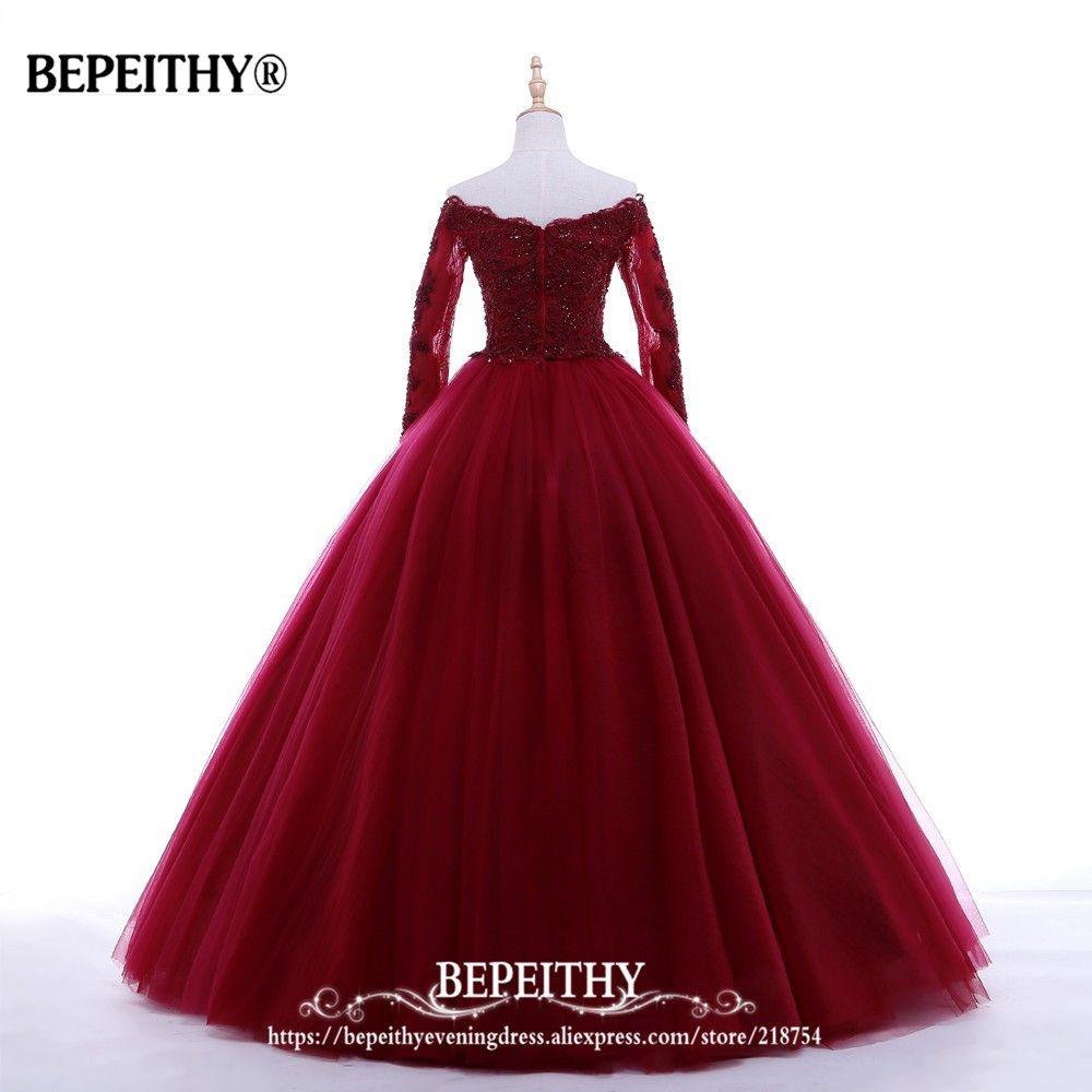 Best arrival ball gown v neck long evening dress party elegant
