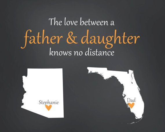 Custom Father S Day Long Distance Print Custom By