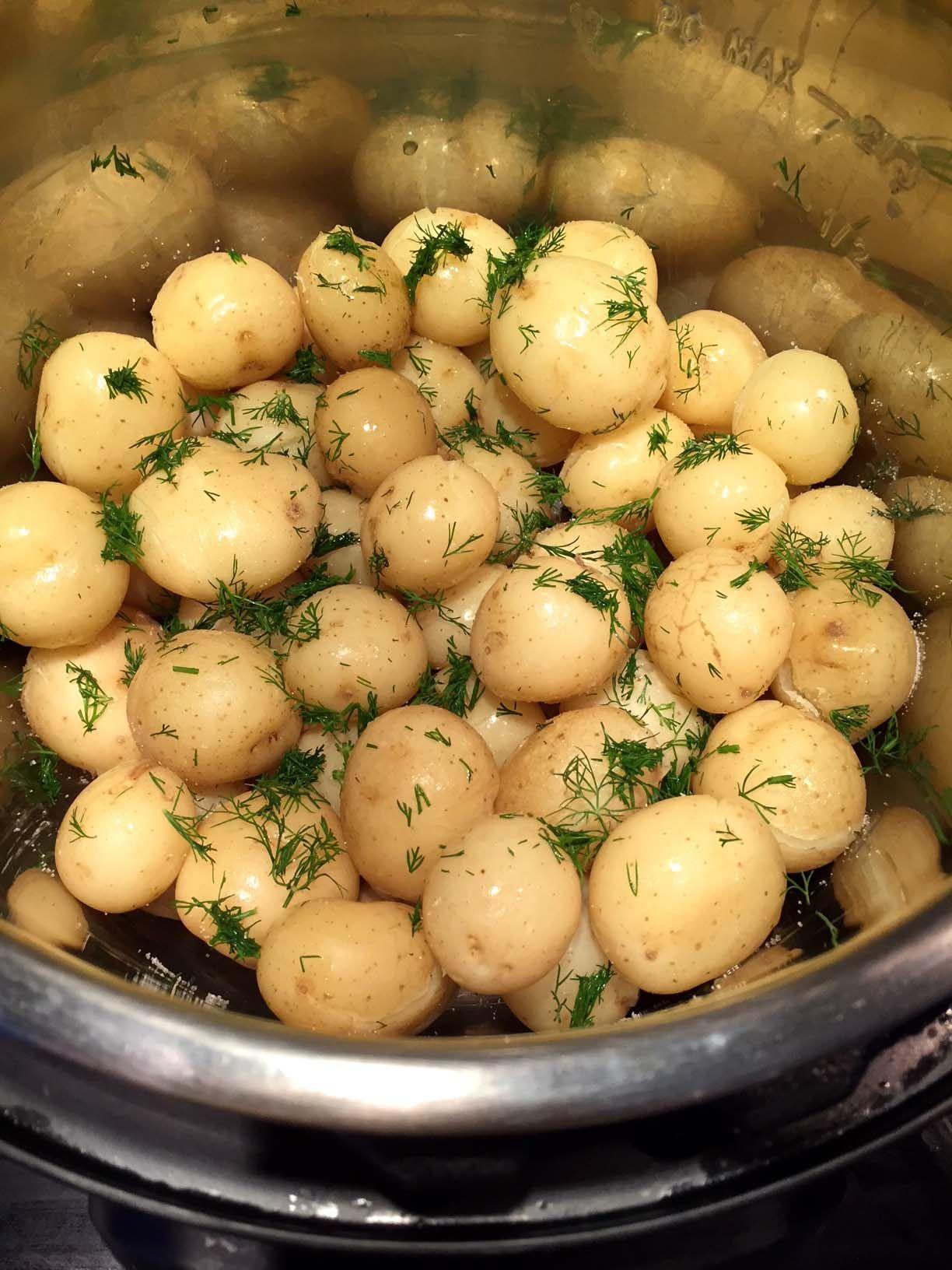 Potato Salad Recipe Instant Pot