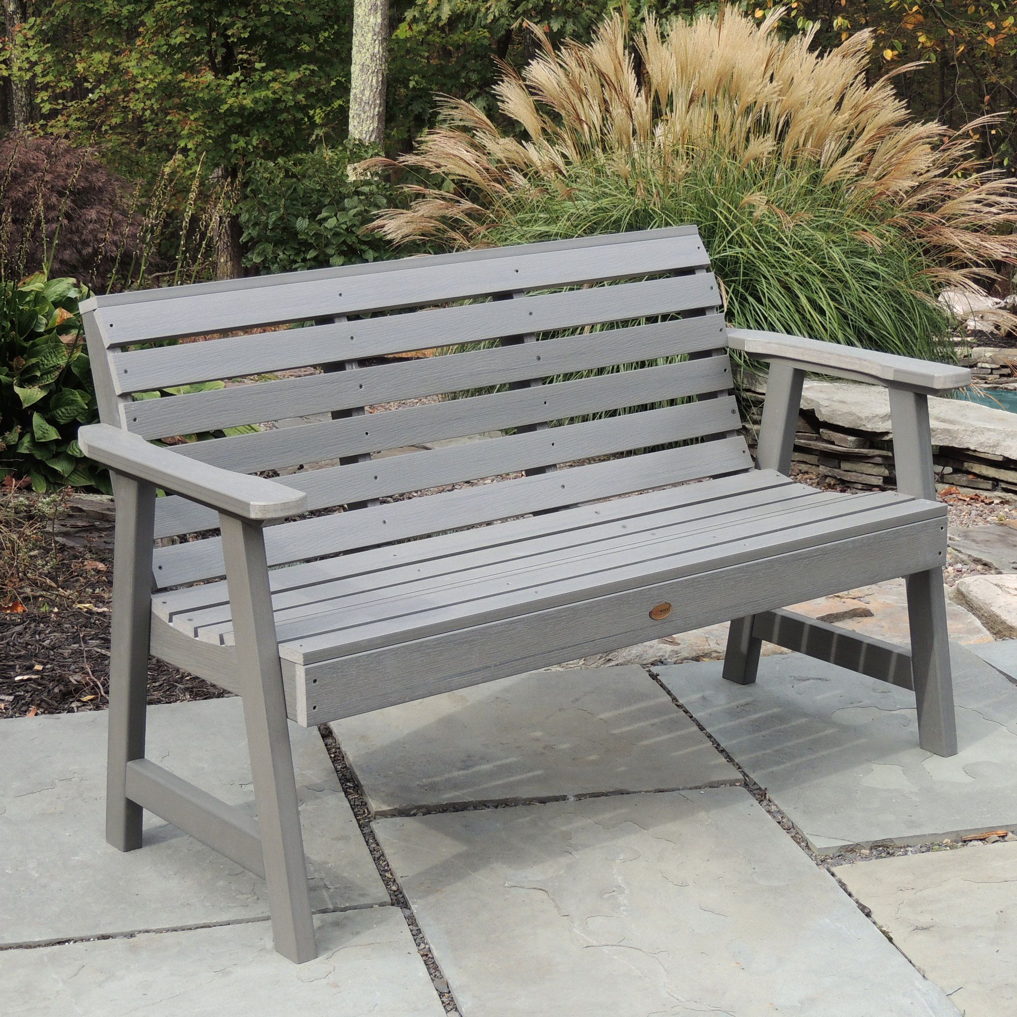 Terrific Berry Synthetic Wood Garden Bench Products Garden In The Beatyapartments Chair Design Images Beatyapartmentscom