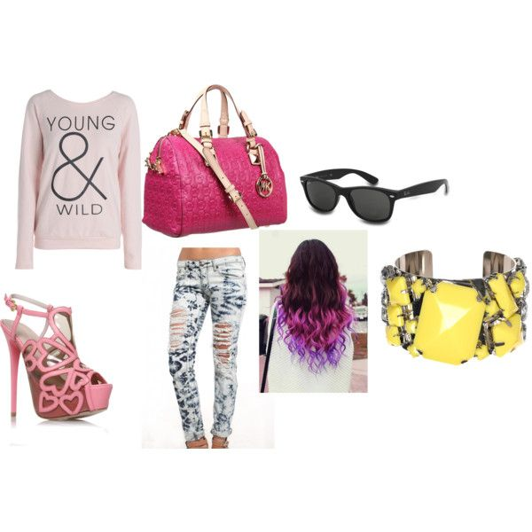 """""""young & wild"""" by ayjahne on Polyvore"""