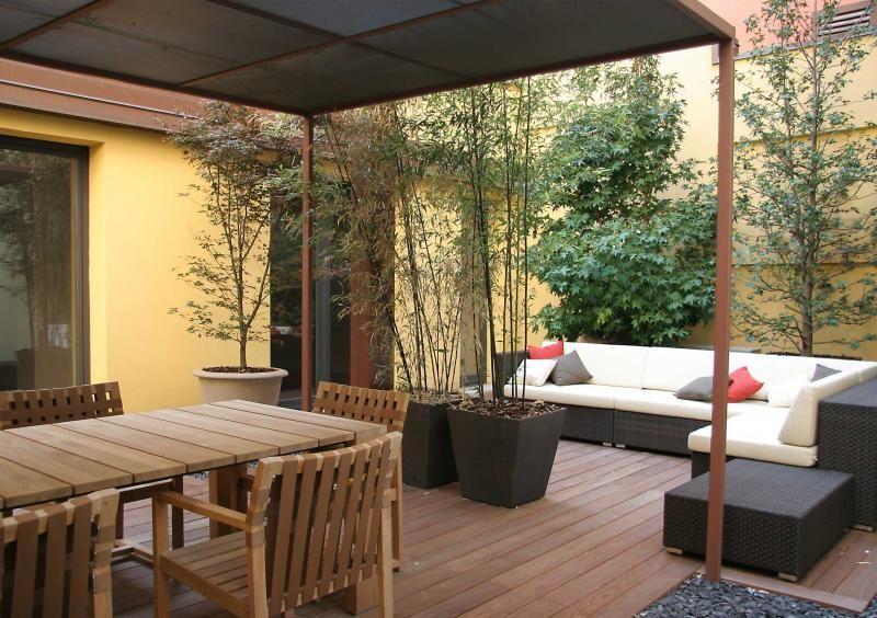 progettazione terrazza - design - arredo esterni | Urban Gardens ...