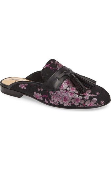 2ed9cc2be SAM EDELMAN Paris Backless Tassel Loafer (Women).  samedelman  shoes  flats