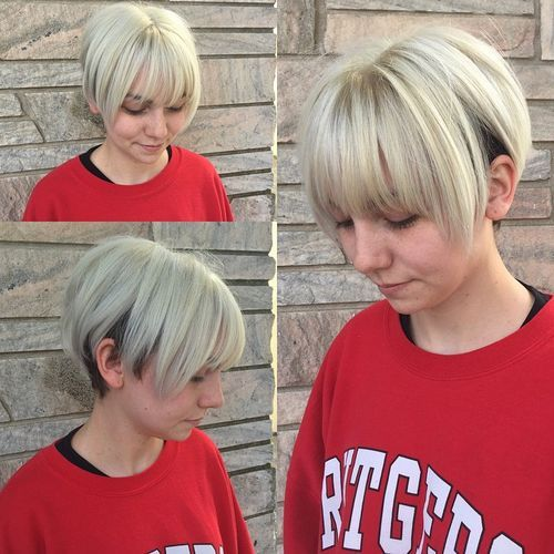 50 Classy Short Bob Haircuts And Hairstyles With Bangs Short Bob Haircuts Hairstyles With Bangs Bob Hairstyles With Bangs