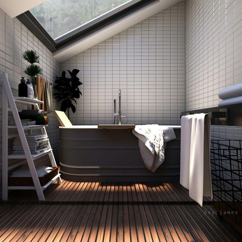 Bathroom #3d #render #vray #sketchup #interior #design | 3d