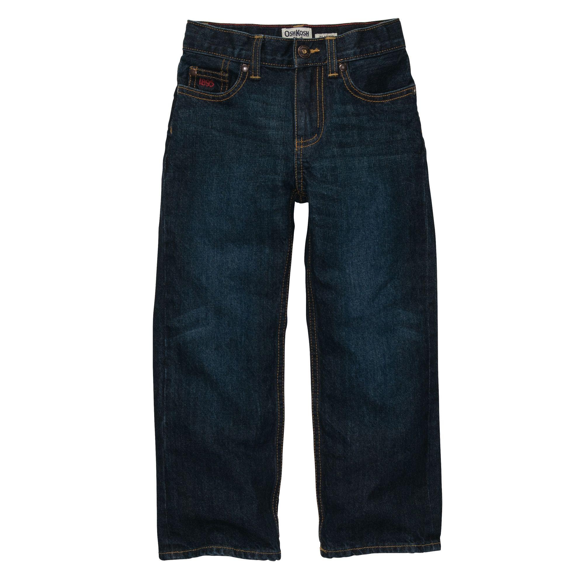 Classic Jean Rail Tie True Blue Wash