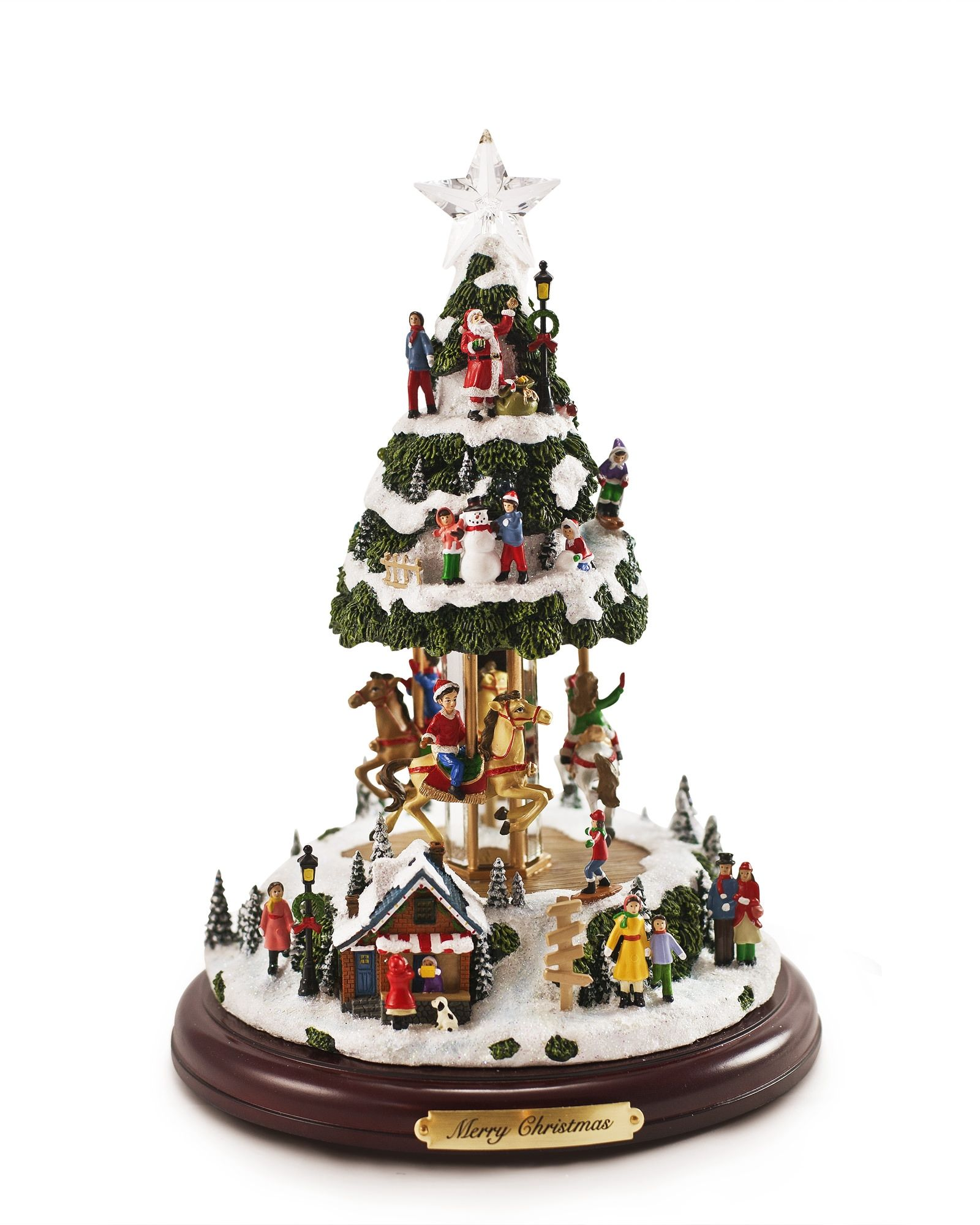 Our Animated Musical Tree Is A Miniature Christmas Village