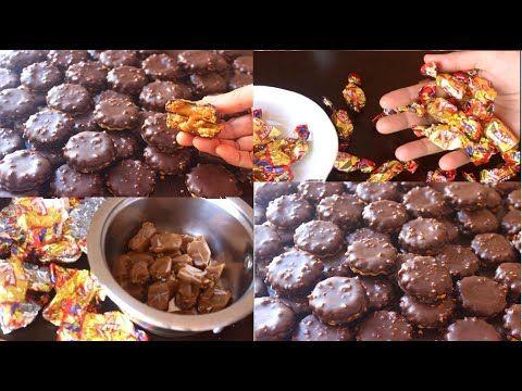 حلويات العيد 2020 صابلي بريستيج ال5 ملاعق بدون بيض بحشوة معلكة ولذيذة بكراميل 2 دريال كتخرج 70حبة Youtube Food Breakfast