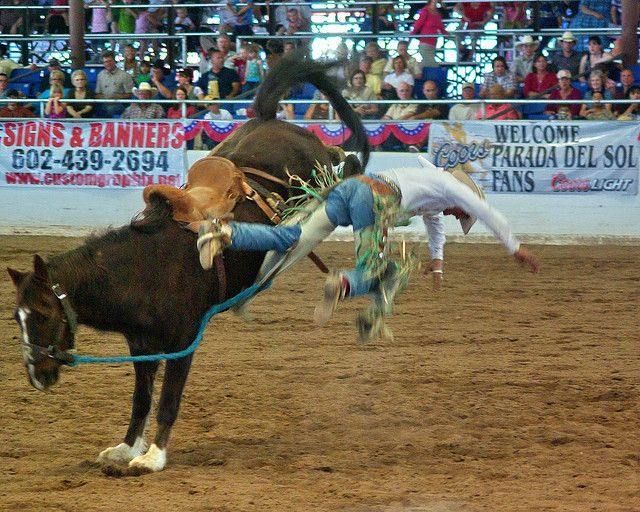 Life is like a Rodeo - Parada del Sol Rodeo - Scottsdale by Al_HikesAZ, via Flickr