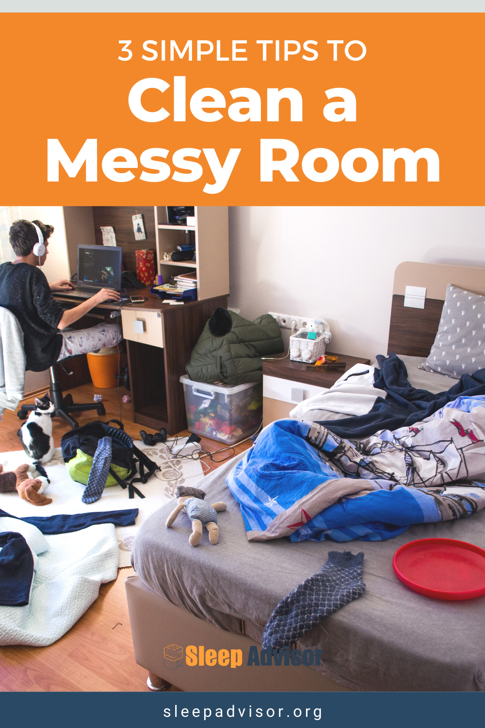 Messy Bedroom Cleaning Tips - 3 Easy and Fast Steps for ...