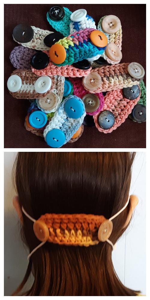 Quick Face Mask Mates Free Crochet Patterns - DIY Magazine