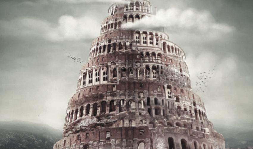 A Torre De Babel Em 2020 Torre De Babel Torre Historias Biblicas
