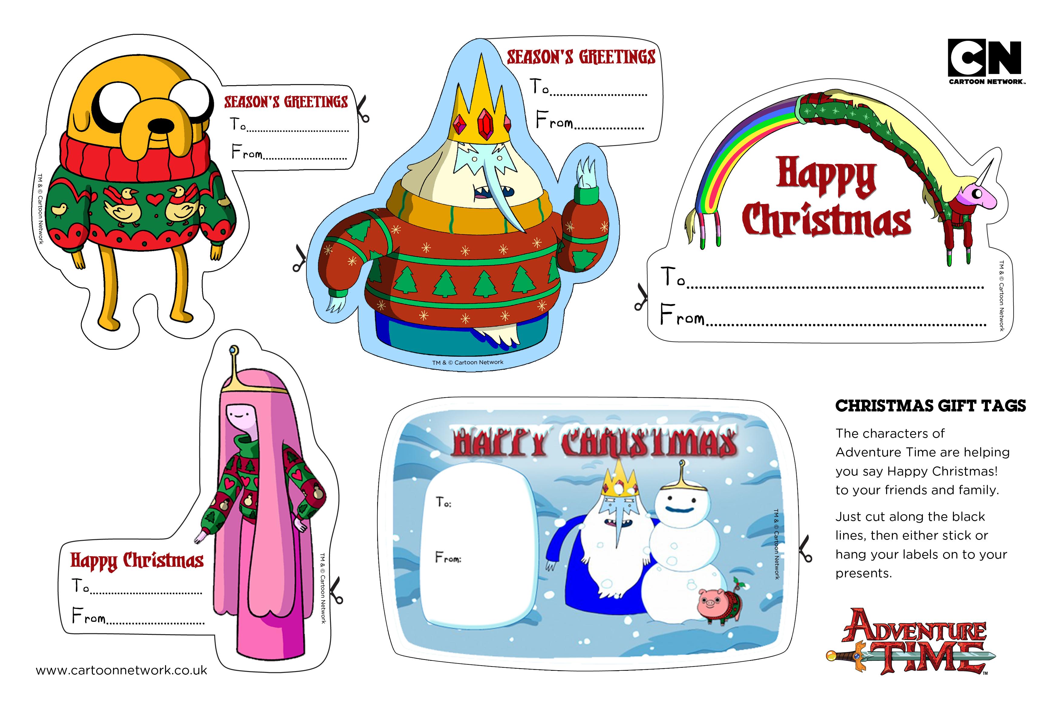 Adventure Time Labels | ~Pequeños detalles~ | Pinterest