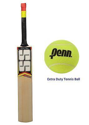 Ss Sangakkara Cricket Bat With Penn Extra Duty Tennis Ball Bat