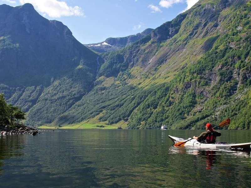 Kayak and Wild Camp Norwegian Fjords   Kayaking, Fjord ...