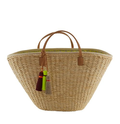 Rapeseed Yellow Riviera Basket