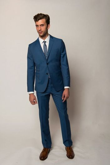 J LINDEBERG SLIM FIT SUIT BLUE | August - Brad | Pinterest | Blue