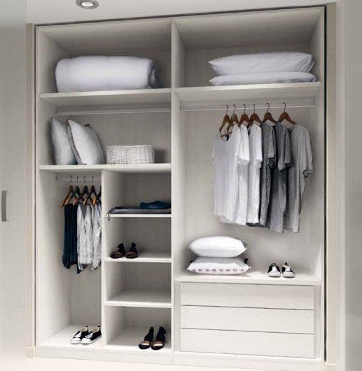Ideas para organizar el dormitorio en kibuc puedes personalizar los interiores de armarios - Ideas para organizar el armario ...