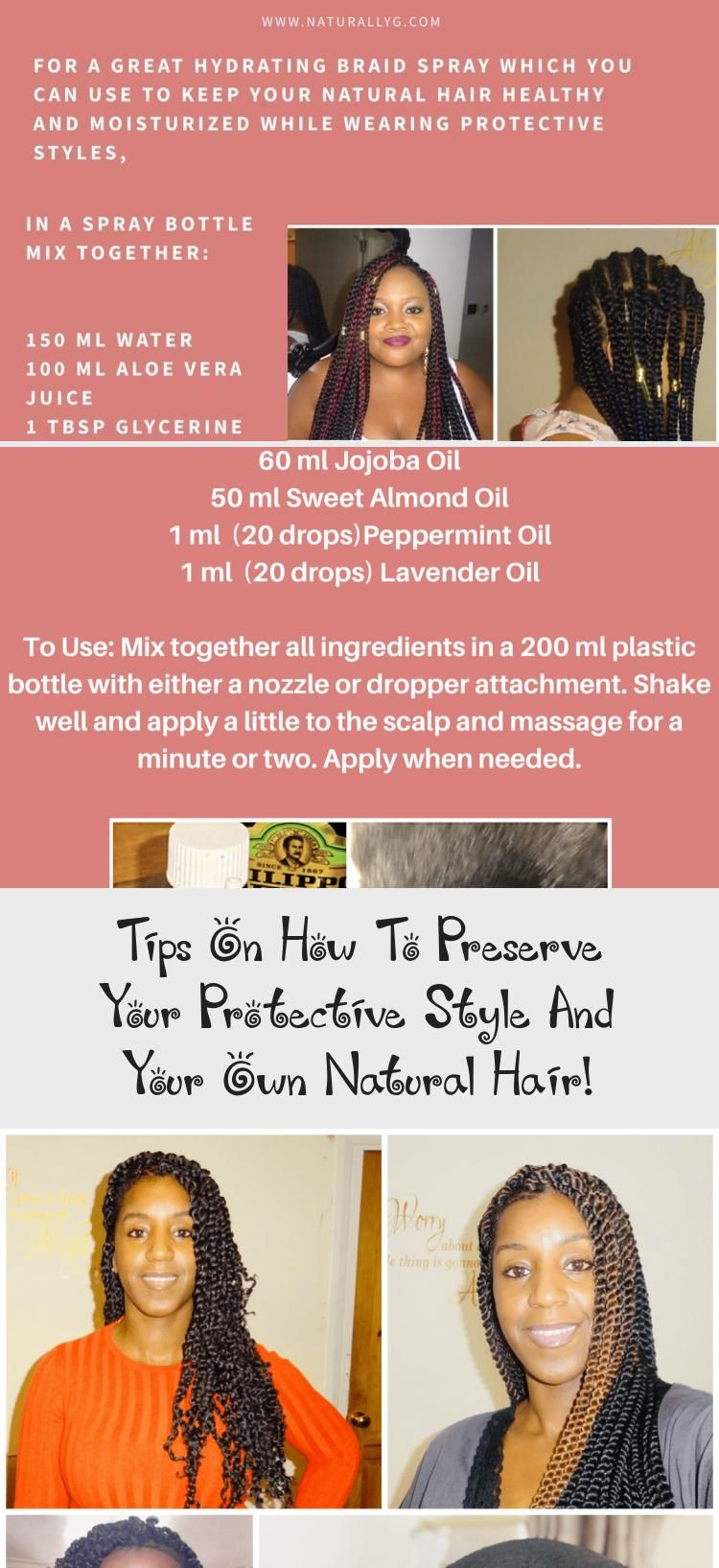 Tips On How To Preserve Your Protective Style And Your Own Natural